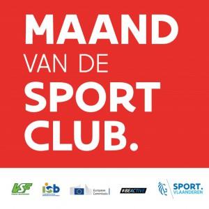 Logo maand van de sportclub